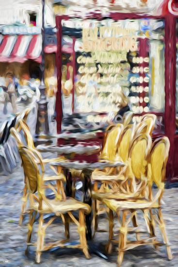 Paris Brasserie - In the Style of Oil Painting-Philippe Hugonnard-Giclee Print