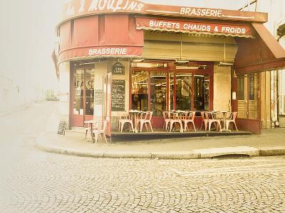 Paris Brasserie-Keri Bevan-Photographic Print