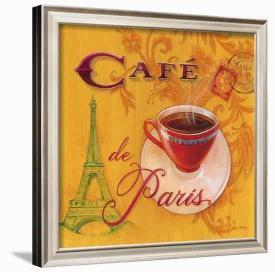 Paris Café-Angela Staehling-Framed Art Print
