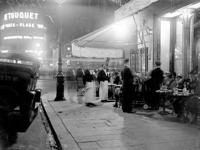 Paris Cafe--Photographic Print
