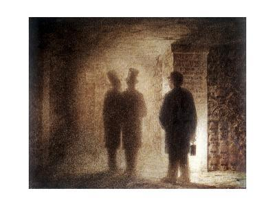 """Paris Catacombs, One of the """"Pictures at an Exhibition""""-Viktor Aleksandrovich Gartman-Giclee Print"""