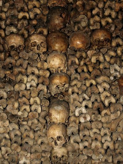 Paris Catacombs, Paris, France, Europe-Godong-Photographic Print