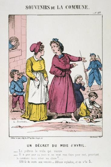 Paris Commune, 1871--Giclee Print