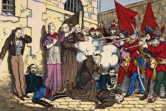 Paris Commune or Fourth French Revolution--Giclee Print