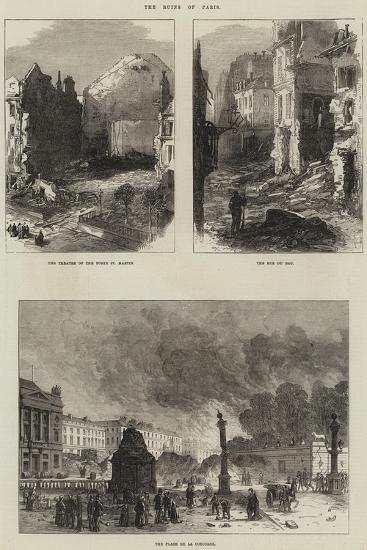 Paris Commune--Giclee Print