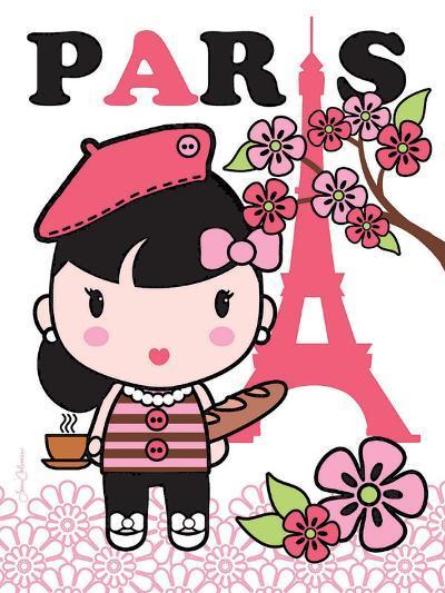 Paris Cutie-Joan Coleman-Art Print