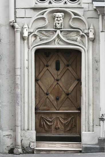 Paris Door-Tracey Telik-Art Print