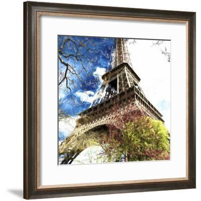 Paris Eiffel-Philippe Hugonnard-Framed Giclee Print