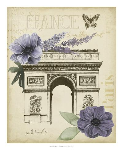 Paris Ephemera I-Grace Popp-Art Print
