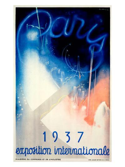 Paris Exposition 1937--Giclee Print