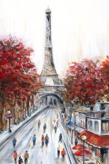 Paris Fall-Marilyn Dunlap-Art Print