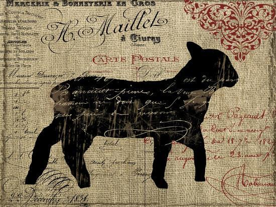 Paris Farms III-Color Bakery-Giclee Print