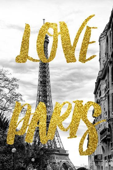 Paris Fashion Series - Love Paris - Eiffel Tower IV-Philippe Hugonnard-Photographic Print