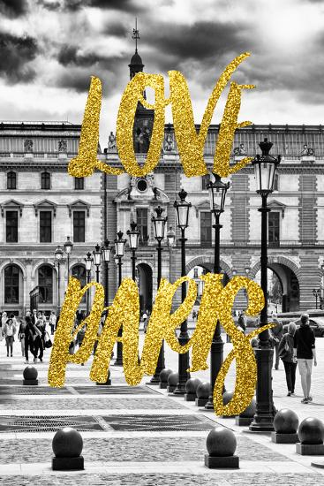 Paris Fashion Series - Love Paris - French Architecture-Philippe Hugonnard-Photographic Print