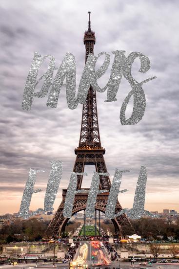 Paris Fashion Series - Paris Eiffel II-Philippe Hugonnard-Photographic Print