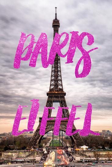 Paris Fashion Series - Paris Eiffel IV-Philippe Hugonnard-Photographic Print