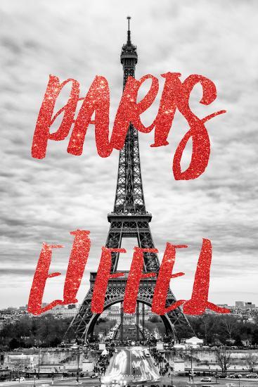 Paris Fashion Series - Paris Eiffel V-Philippe Hugonnard-Photographic Print
