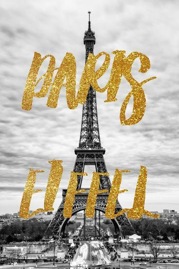 Paris Fashion Series - Paris Eiffel VIII-Philippe Hugonnard-Photographic Print