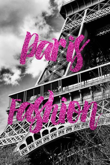Paris Fashion Series - Paris Fashion - Eiffel Tower III-Philippe Hugonnard-Photographic Print