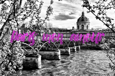 Paris Fashion Series - Paris mon amour - Pont des Arts II-Philippe Hugonnard-Photographic Print