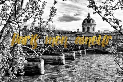 Paris Fashion Series - Paris mon amour - Pont des Arts-Philippe Hugonnard-Photographic Print