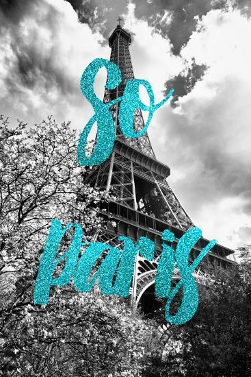 Paris Fashion Series - So Paris - Eiffel Tower II-Philippe Hugonnard-Photographic Print