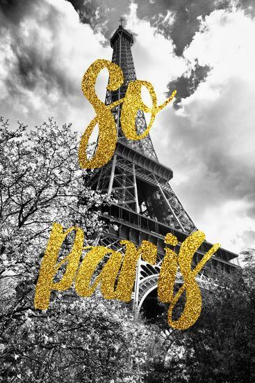Paris Fashion Series - So Paris - Eiffel Tower-Philippe Hugonnard-Photographic Print