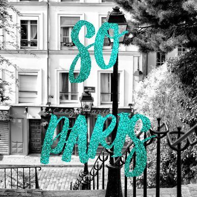 Paris Fashion Series - So Paris - Staircase Montmartre IV-Philippe Hugonnard-Photographic Print