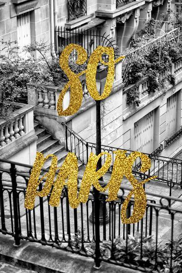 Paris Fashion Series - So Paris - Stairs of Montmartre-Philippe Hugonnard-Photographic Print
