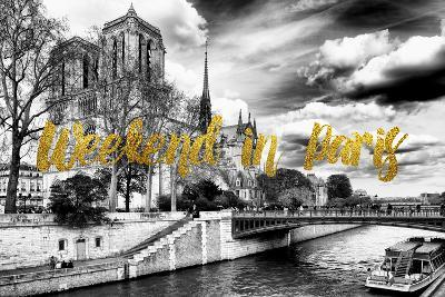 Paris Fashion Series - Weekend in Paris - Notre Dame Cathedral-Philippe Hugonnard-Photographic Print