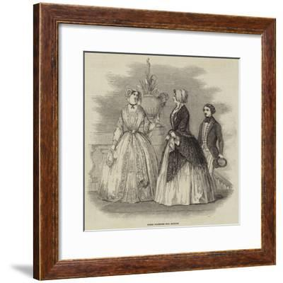 Paris Fashions for August--Framed Giclee Print