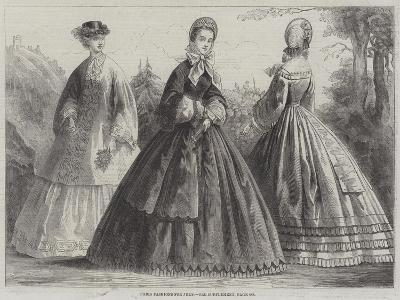 Paris Fashions for July--Giclee Print