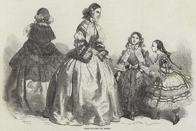 Paris Fashions for March--Giclee Print