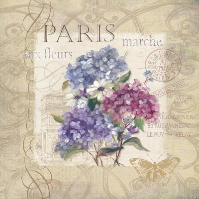 Paris Flower Market-Carol Robinson-Art Print