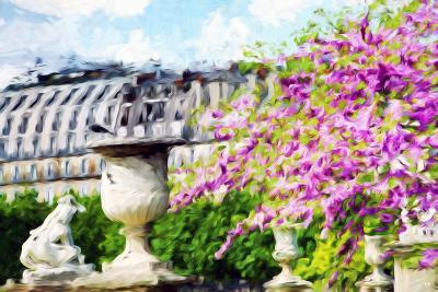 Paris Flowers I - In the Style of Oil Painting-Philippe Hugonnard-Giclee Print