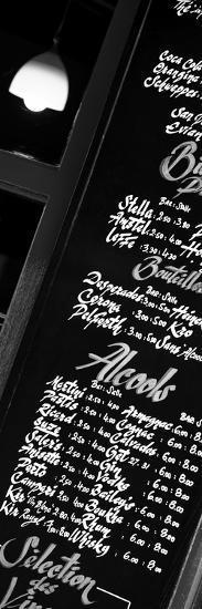 Paris Focus - Bar Menu-Philippe Hugonnard-Photographic Print