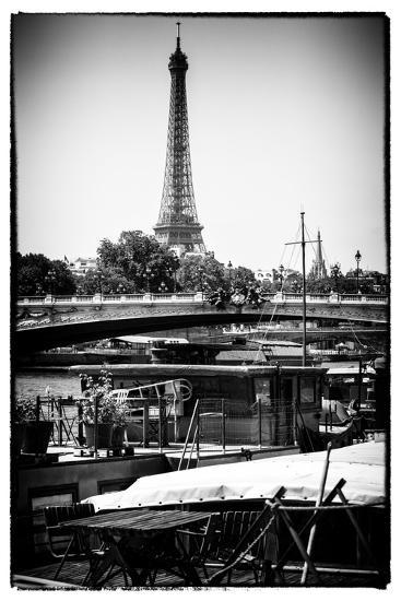 Paris Focus - Barge Ride-Philippe Hugonnard-Photographic Print
