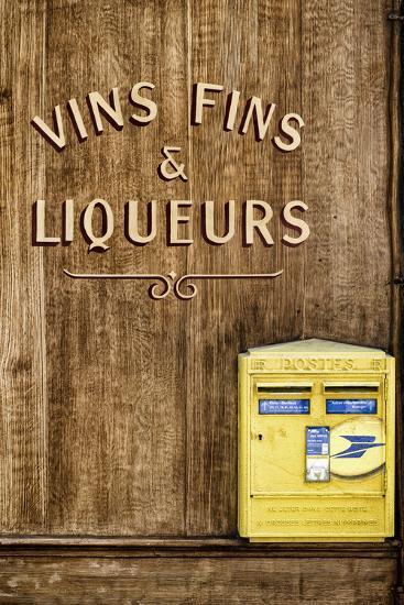 Paris Focus - French Box Letters-Philippe Hugonnard-Photographic Print