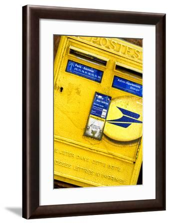 Paris Focus - French Box Letters-Philippe Hugonnard-Framed Photographic Print