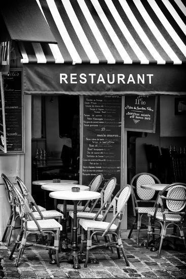 Paris Focus - French Restaurant-Philippe Hugonnard-Photographic Print