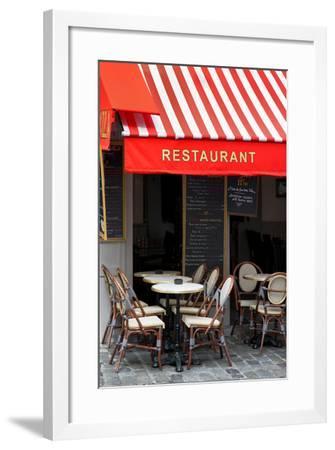 Paris Focus - French Restaurant-Philippe Hugonnard-Framed Photographic Print