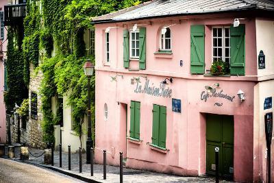 Paris Focus - La Maison Rose in Montmartre-Philippe Hugonnard-Photographic Print