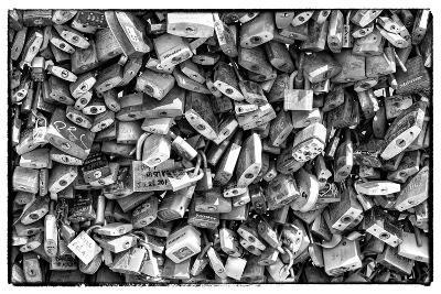 Paris Focus - Love Locks-Philippe Hugonnard-Photographic Print
