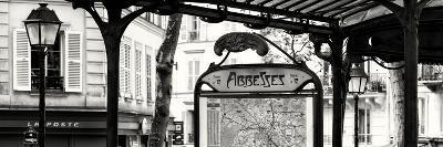 Paris Focus - Metro Abbesses-Philippe Hugonnard-Photographic Print