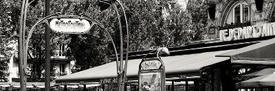 Paris Focus - Metropolitain Saint Michel-Philippe Hugonnard-Photographic Print