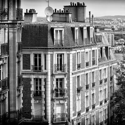 Paris Focus - Montmartre Architecture-Philippe Hugonnard-Photographic Print