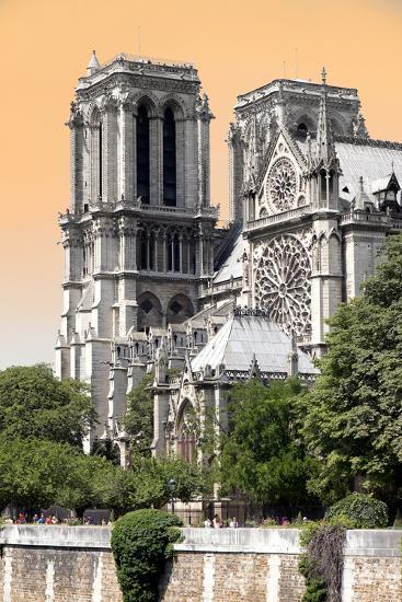 Paris Focus - Notre Dame Cathedral-Philippe Hugonnard-Photographic Print