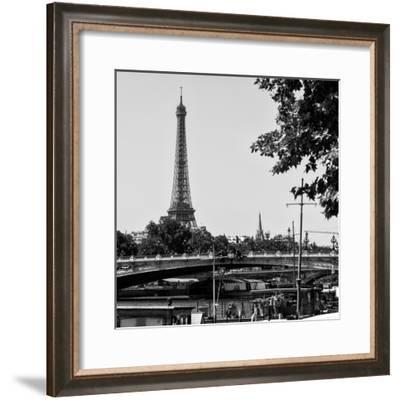 Paris Focus - Paris Bridge-Philippe Hugonnard-Framed Photographic Print