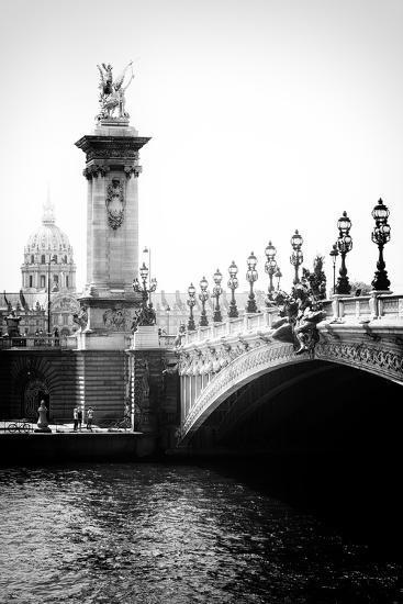 Paris Focus - Paris City Bridge-Philippe Hugonnard-Photographic Print