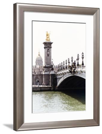 Paris Focus - Paris City Bridge-Philippe Hugonnard-Framed Photographic Print